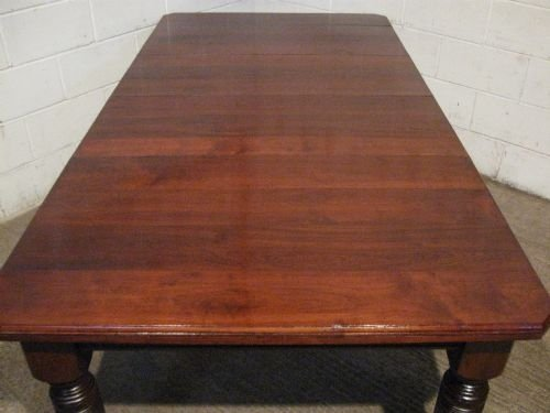antique victorian mahogany extending dining table seats 1012 c1880 wdb4985610