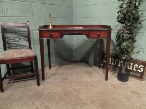 antique regency mahogany writing table desk c1820 w691815