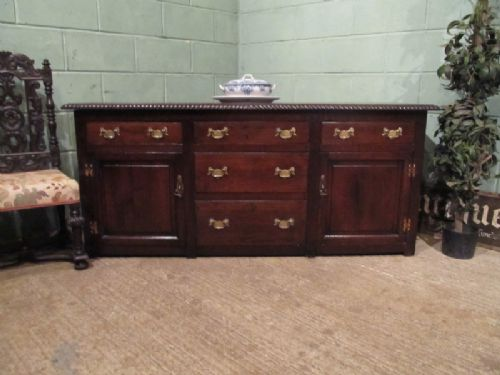 antique georgian oak sideboard c1780 w7030278